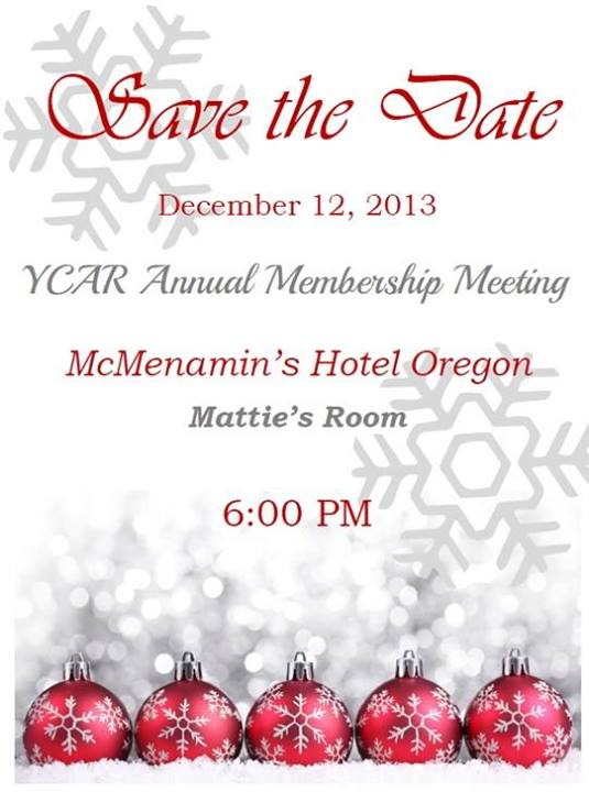YCAR Annual Membership Meeting
