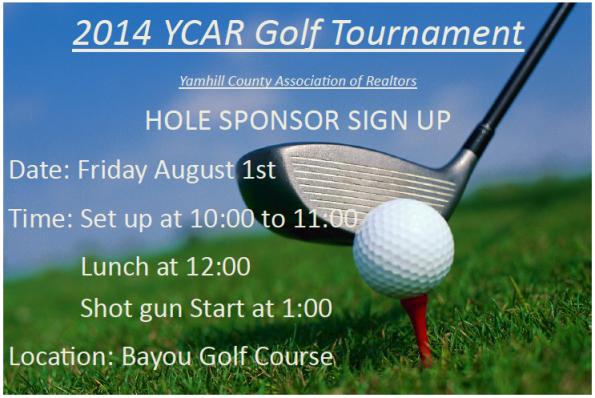 YCAR Golf Tournament