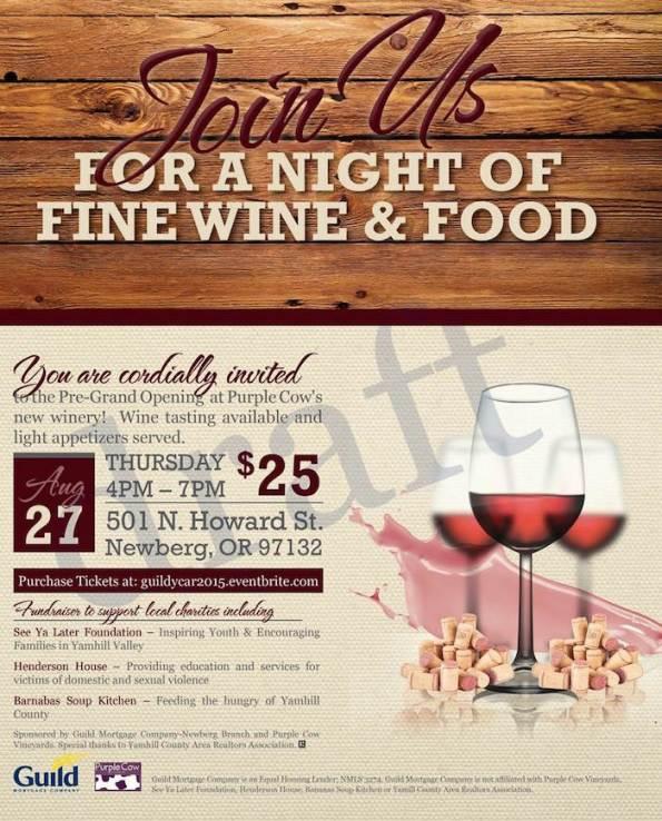 YCAR Wine Event